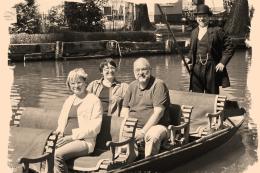 Nostalgiefahrt - Kahnpartie fast wie um 1910